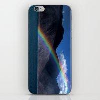The Rainbow At Pangong! iPhone & iPod Skin