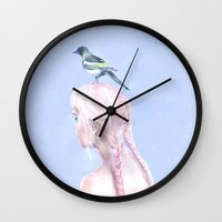 Never Learned To Fly Wall Clock