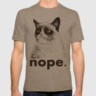 T-shirt featuring GRUMPY CAT - Nope (versi… by John Medbury (LAZY J…