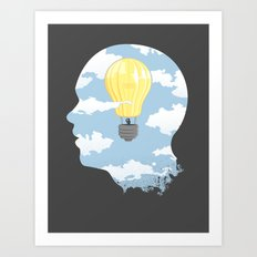 Bright Idea Art Print