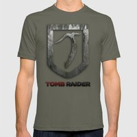 Tomb Raider Mens Fitted Tee Lieutenant SMALL