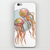 Jumpin Jellyfish iPhone & iPod Skin