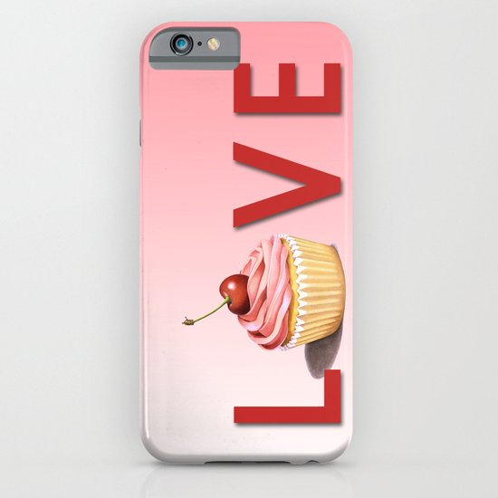 Perfect Pink Cupcake LOVE iPhone & iPod Case