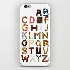 Candy Alphabet iPhone & iPod Skin