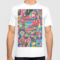 Schema 17 Mens Fitted Tee White SMALL