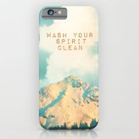 WASH YOUR SPIRIT CLEAN (… iPhone 6 Slim Case