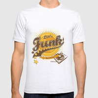 Let's Funk Mens Fitted Tee Ash Grey SMALL