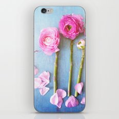 Wild Flowers and Spring Asparagus iPhone & iPod Skin