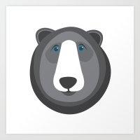 Forest Friends: Bear Art Print