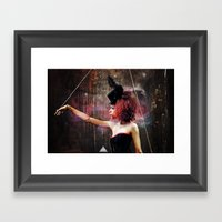 Marionette Magic 3 Of 4 Framed Art Print
