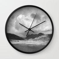 Blea Tarn With Langdale … Wall Clock