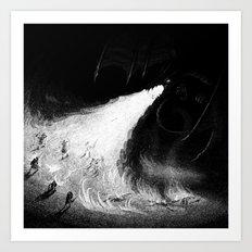 Drawlloween 2013: Dragon Art Print