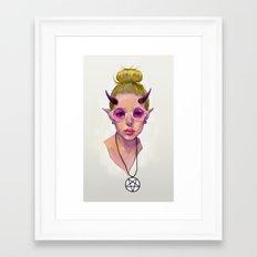 Monster Girl #3 Framed Art Print