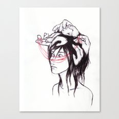 all the thoughts that won't sleep Canvas Print