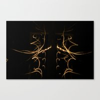 Light Painting Design 1 Canvas Print