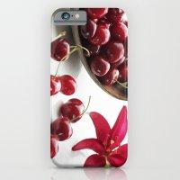 Fresh cherries straight from the tree iPhone 6 Slim Case