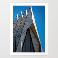 Air Force Church Art Print