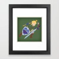 Link, He's BA (Legend of Zelda) Framed Art Print