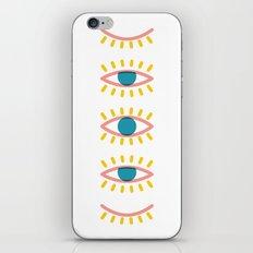 Sleepy Eyes iPhone & iPod Skin