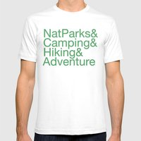 National Parks & Hiking … Mens Fitted Tee White SMALL