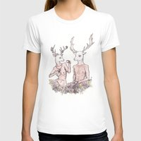 Tea Time Womens Fitted Tee White SMALL
