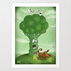 Broccoli - Food series Art Print