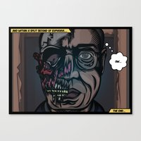 And Within A Split Secon… Canvas Print