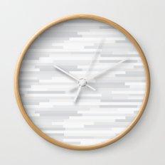 White Estival Mirage Wall Clock