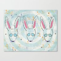 Bunsies Canvas Print