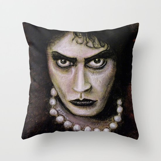 The Rocky Horror Picture Show: Dr. Frank-N-Furter Throw Pillow