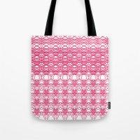 Filigree Floral Tote Bag