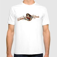 Wonder Bombshell Mens Fitted Tee White SMALL