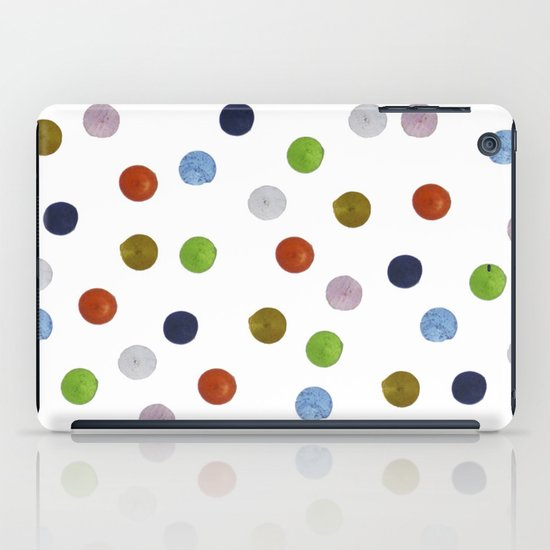 Pinpoint Dots iPad Case