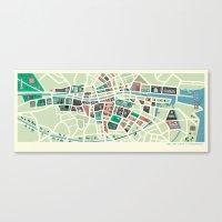 Baile Átha Cliath (Dubl… Canvas Print