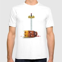 My Beautiful Dark twisted Fantasy Mens Fitted Tee White SMALL