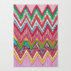 Peruvian Waves Canvas Print