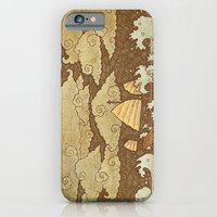 iPhone Cases featuring Tempest  by Terry Fan