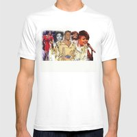 Jill Scott Mens Fitted Tee White SMALL