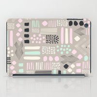 Pastel Tribal Patchwork iPad Case