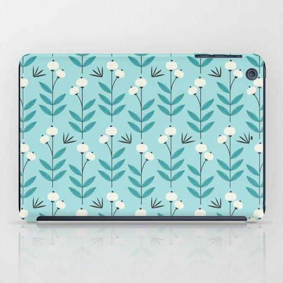 Blue Blooms iPad Case
