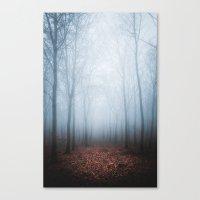 Blue Fog Canvas Print