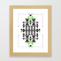 :::Space Rug::: Framed Art Print