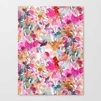 Local Color (Pink) Canvas Print
