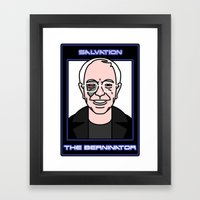 Shout to the Top: Berninator Framed Art Print