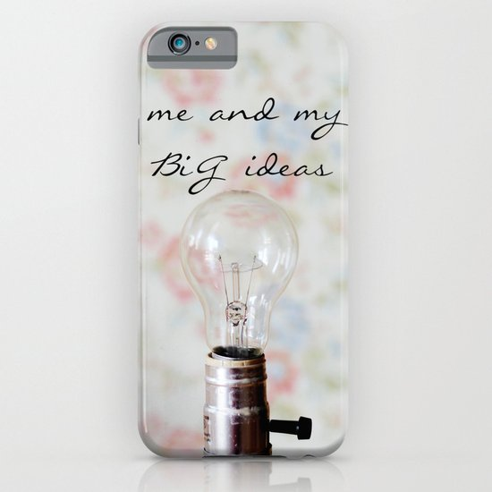 Big Ideas iPhone & iPod Case
