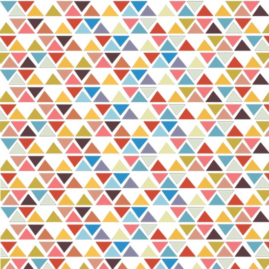 Triangle love Art Print