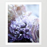 Flower Funeral Art Print