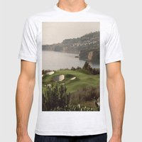 FORE!!! Mens Fitted Tee Ash Grey SMALL