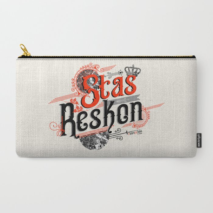 Stas Reskon - A Gathering Of Shadows Carry-All Pouch