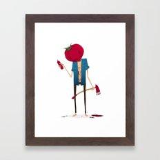 Ketchup? Framed Art Print